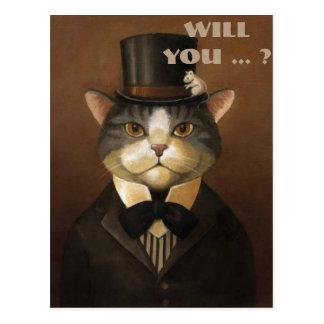 sind Sie mein Trauzeuge? seien Sie mein Trauzeuge Postkarten