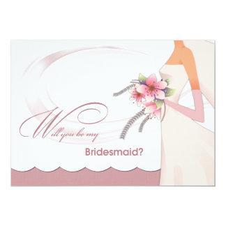 Sind Sie meine Brautjungfer? Kundenspezifische Individuelle Ankündigungen