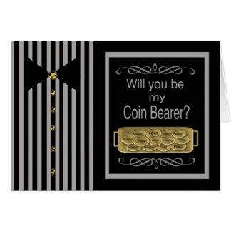 Sind Sie meine Münzen-Träger-Antrag-Karte Karte