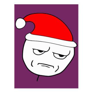 sind Sie mich scherzend Weihnachtenmeme Postkarte