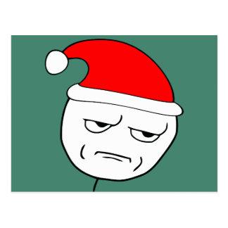 sind Sie mich scherzend Weihnachtenmeme Postkarten