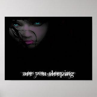 sind Sie schlafend Plakat