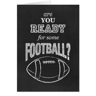 sind Sie zu etwas Fußball bereit? Karte