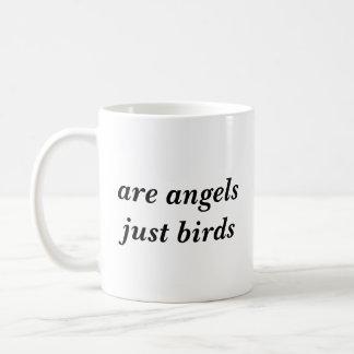 Sind Vogel-Tasse der Engel gerade Kaffeetasse