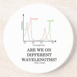 Sind wir auf verschiedenen Wellenlängen? Untersetzer