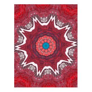 Sindh ethnisches Stammes- pattern.jpg Postkarte