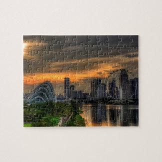 Singaporecity Goldenhour Puzzle