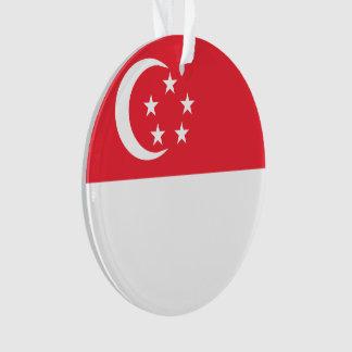 Singapur-Flagge Ornament