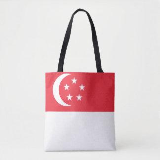 Singapur-Flagge Tasche