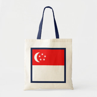 Singapur-Flaggen-Tasche Tragetasche
