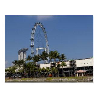 Singapur-Flyer Postkarten