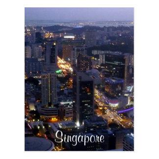 Singapur-Gbd Postkarte