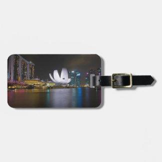 Singapur-Jachthafen Bucht Gepäckanhänger