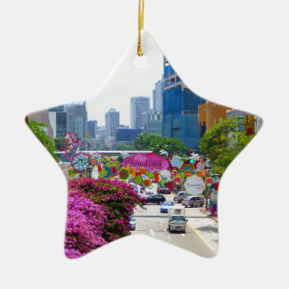 Singapur Keramik Ornament