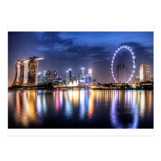 Singapur! Postkarte
