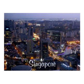 Singapur Postkarte