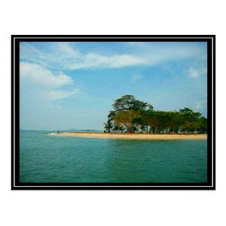 Singapur - Pulau Ubin Postkarte
