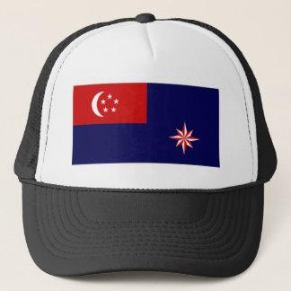 Singapur-Regierungs-Fahne Truckerkappe