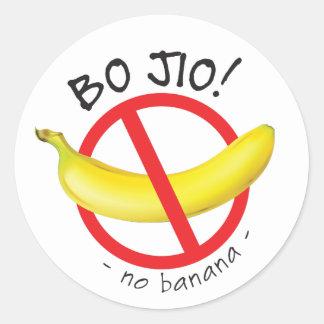 Singapur Singlish - BO Jio - kein laden, keine Runder Aufkleber