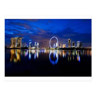 Singapur-Traum Postkarte