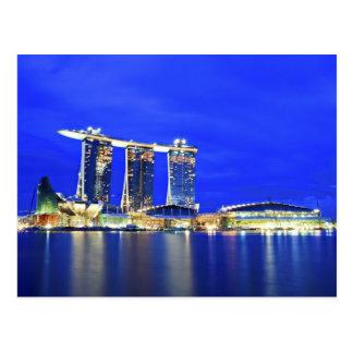 Singapur-Ufergegend-Postkarte Postkarten