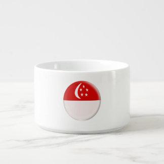 Singapurer-Flagge Singapurs Singapura Kleine Suppentasse