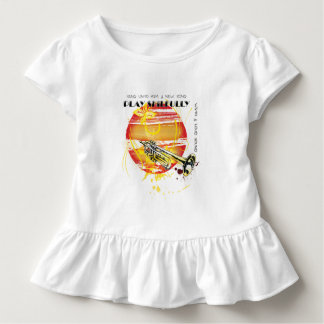 Singen Sie an ihn ein neues Lied Kleinkind T-shirt