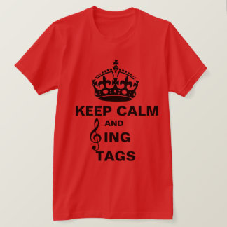Singen Sie Umbauten T-Shirt