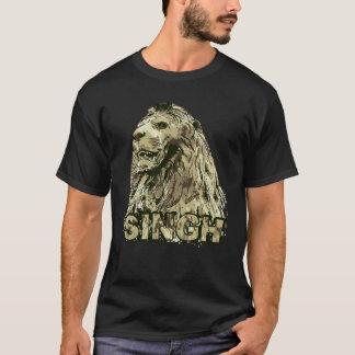 Singh - königlicher Löwe T-Shirt