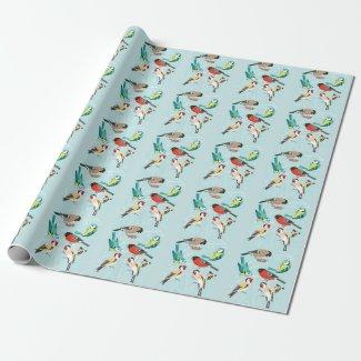 Singing Birds Geschenkpapier