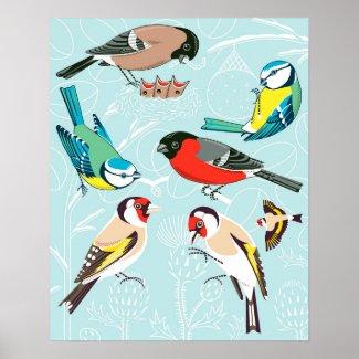 Singing Birds Poster