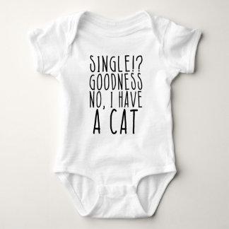 Single!? Die KEINE Güte, habe ich einen CAT Baby Strampler