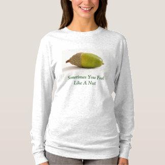Single-Eichel mit Spitze T-Shirt