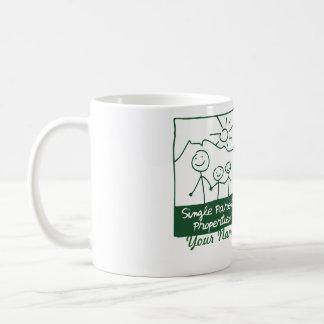 Single-Elternteil-Eigenschaften Kaffeetasse