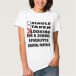 Single genommen, Zombie-Apokalypse-Partner suchend Shirts