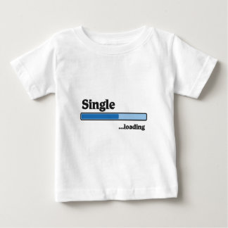 single loading baby t-shirt