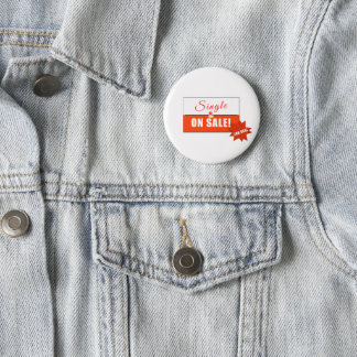 Single plattiert and On Sale Runder Button 5,7 Cm