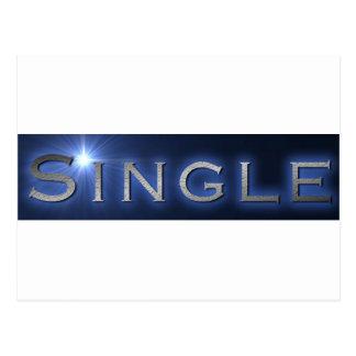 Single Postkarte