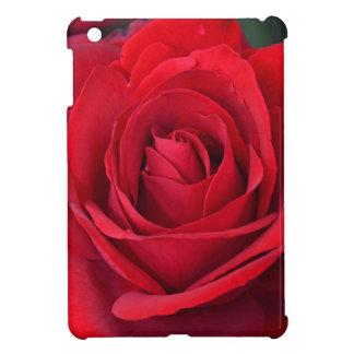 Single-Rote Rose in der vollen Blüte iPad Mini Hülle