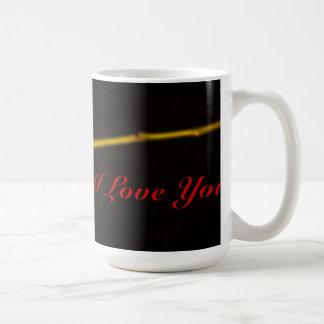 Single-Rote Rose Kaffeetasse