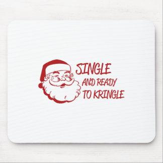 Single u. bereiten zu Kringle vor Mauspad