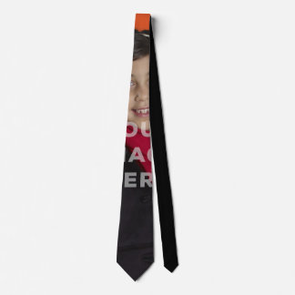 Single umfaßte Bild-Foto-lustige Hals-Krawatte Krawatte