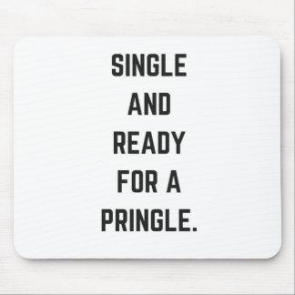 Single und bereiten für eine Pringle Mauspads