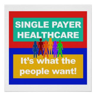 Single-Zahler ist Gesundheitswesen-Es, was die Poster