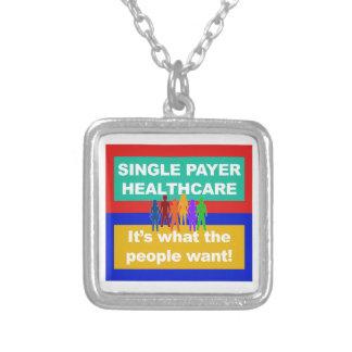Single-Zahler ist Gesundheitswesen-Es, was die Versilberte Kette