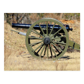Single-zivile Kriegs-Kanone Postkarte