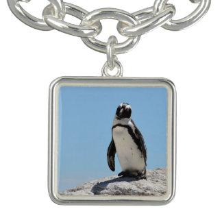 Singlepenguin-Foto Armband