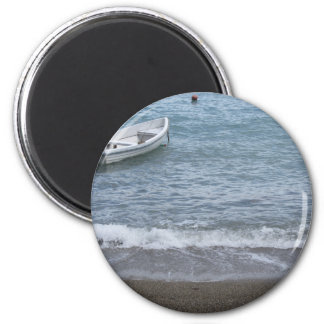 Singlerudersportboot machte in einem Hafen auf dem Runder Magnet 5,1 Cm