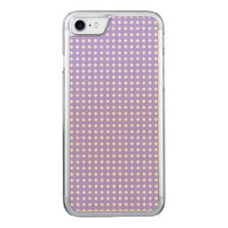Singrün-blaues und weißes geometrisches Muster Carved iPhone 8/7 Hülle