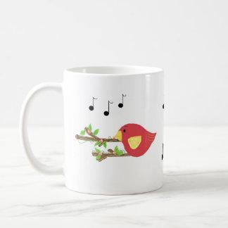 Singvögel Kaffeetasse